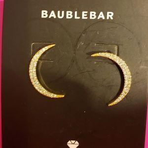 Baublebar Gold Moon Earrings